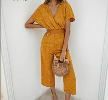 Load image into Gallery viewer, Vintage Summer Jumpsuit