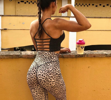 Load image into Gallery viewer, Leopard Curved BUTT