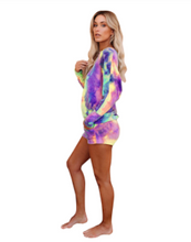Load image into Gallery viewer, Tie Dye Shorts SET