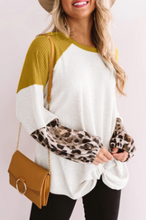 Load image into Gallery viewer, Mustard Leopard Hem