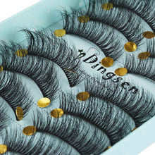 Load image into Gallery viewer, 10 Pairs 3D Soft Faux Mink Lashes