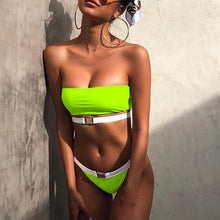 Load image into Gallery viewer, Bandeau Buckle Suit