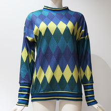 Load image into Gallery viewer, Fall Argyle Sweater