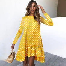 Load image into Gallery viewer, Super Flirty Polka Dot Dress