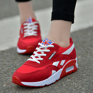 British RED Sneakers