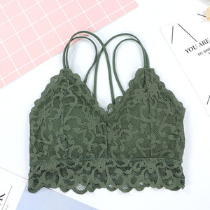 Push Up Wrapped Chest Bra