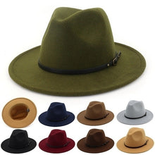 Load image into Gallery viewer, Women Vintage Wide Brim Hat