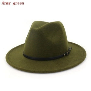 Women Vintage Wide Brim Hat