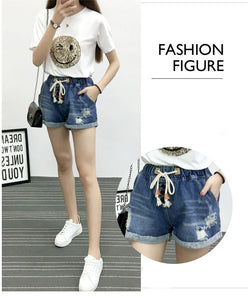 Vintage Fashion Denim Shorts