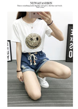 Load image into Gallery viewer, Vintage Fashion Denim Shorts