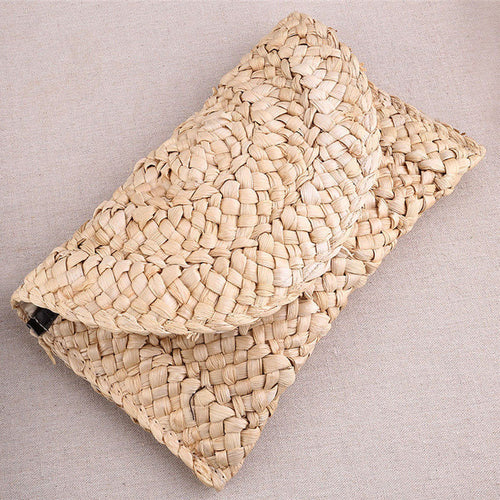 Lovely Raffia Clutch