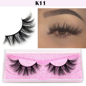 Fluffy 3D Mink Eyelashes