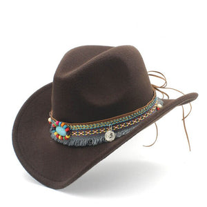 Jazz Cowgirl Fashion Cowboy Hat