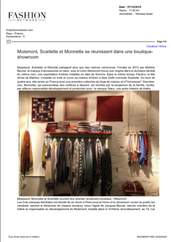 MOISMONT | FASHION NETWORK