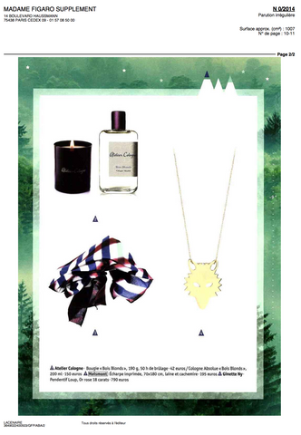 MOISMONT | MADAME FIGARO SUPPLEMENT