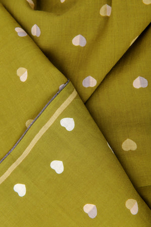 Design 503 Kaki - Cotton Scarf