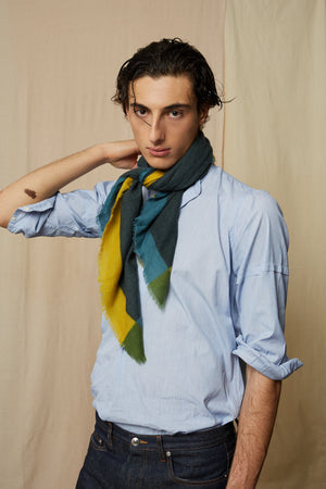 Foulard - Design 446 Dark Green