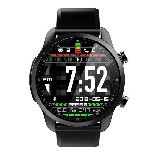Kospet Brave IP68 Waterproof Bluetooth Call 2GB 16GB 4G-LTE Blood Pressure 8 Sports Mode Smart Watch Phone