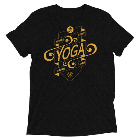 Yoga Shield Black Tee