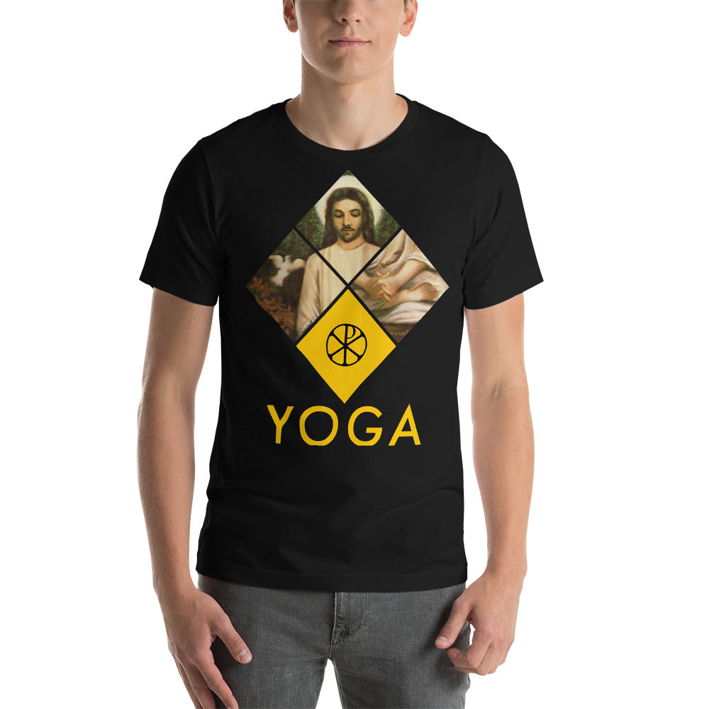 Jesus Yoga Tee Black