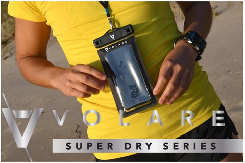 Volare Waterproof Large Phone Case