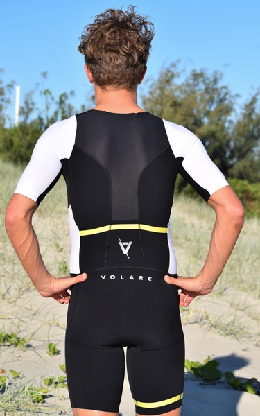 Mens Noosa Sleeved Tri Suit