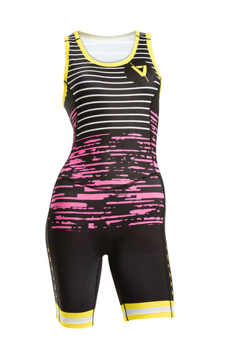 Volare Womens Unicorn Sleeved Tri Suit