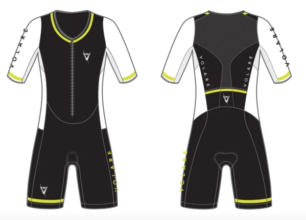 Mens Sleeved Tri Suit