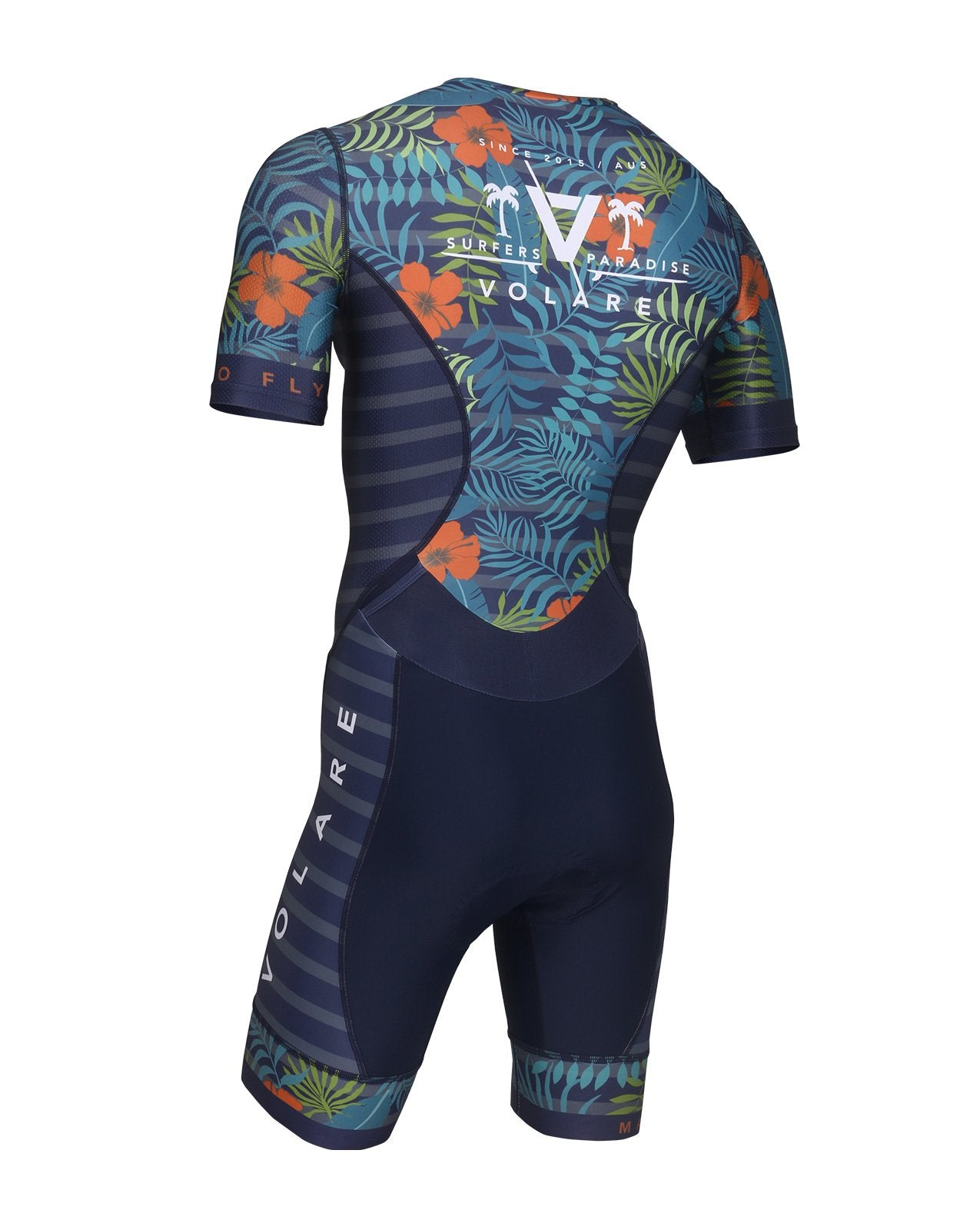 Volare Mens Tropical Sleeved Aero Tri Suit