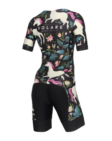 Volare Mens No TV Sleeved Aero Tri Suit