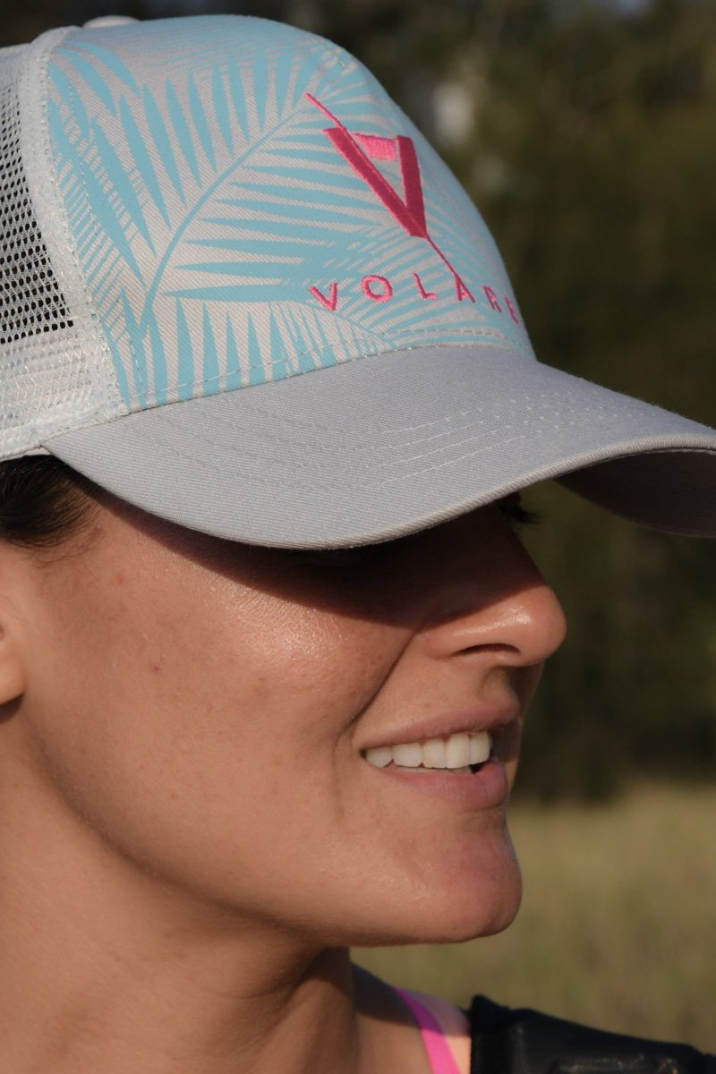 Volare Trucker Cap - Blue Palms