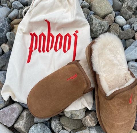 suede-pabooj-slippers-with-sheepskin-fur-and-embroidery