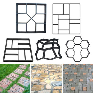 Cement Brick Concrete Molds for Garden Decoration
