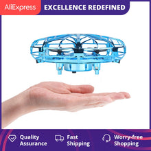Load image into Gallery viewer, UFO Drone, Aircraft Hand Sensing Infrared RC Quadcopter