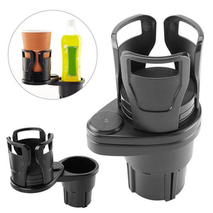 2in1 360 Rotating Car Cup Holder and  Stand Bracket Sunglasses & Phone Organizer
