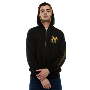 Jaket Sweater Bear Hitam