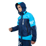 Jaket Rock Ice Biru Muda