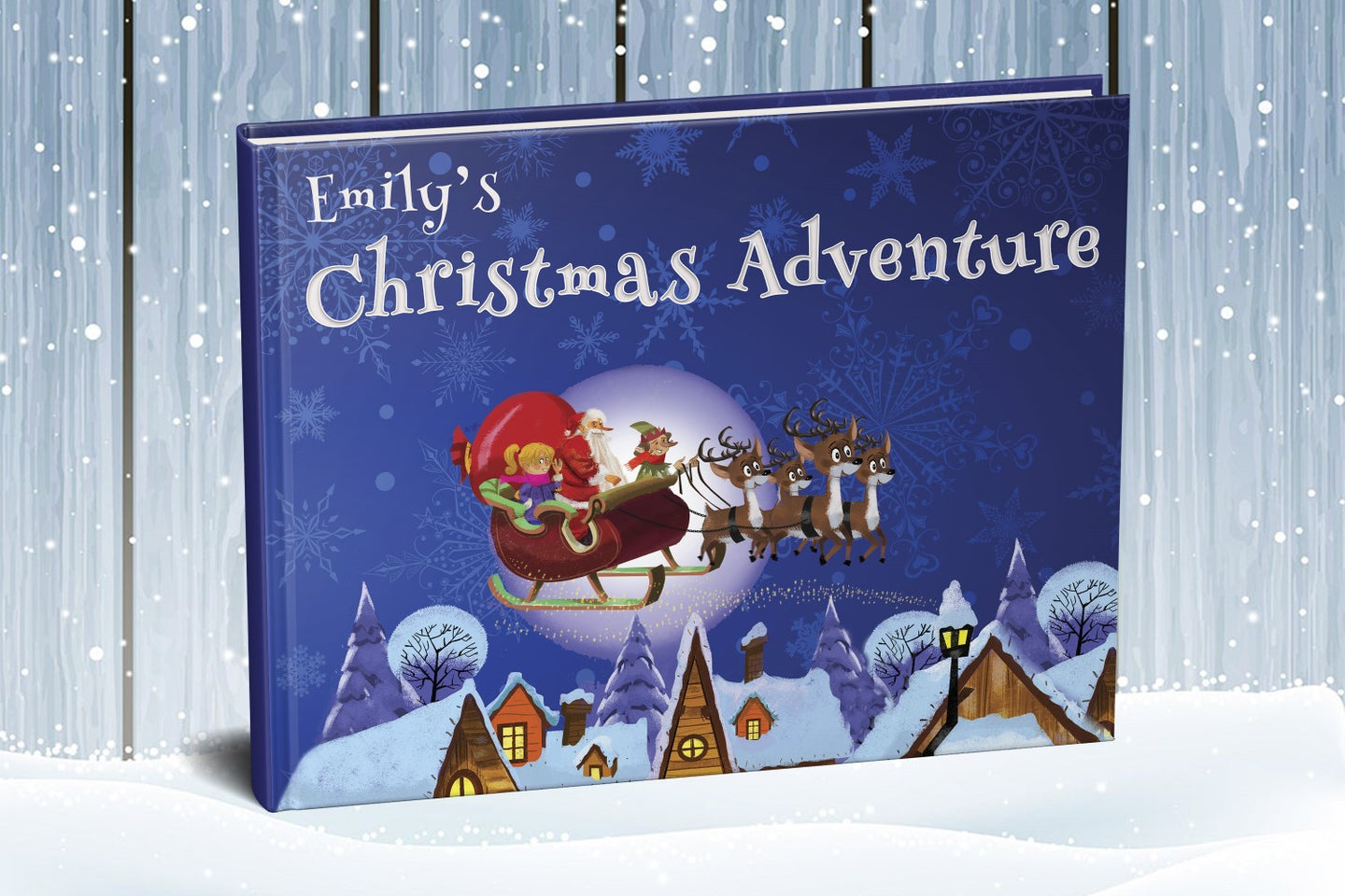 Magical Christmas Adventure personalized for every Girl