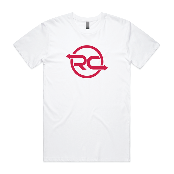 RCTrader T-Shirt White Centre Chest