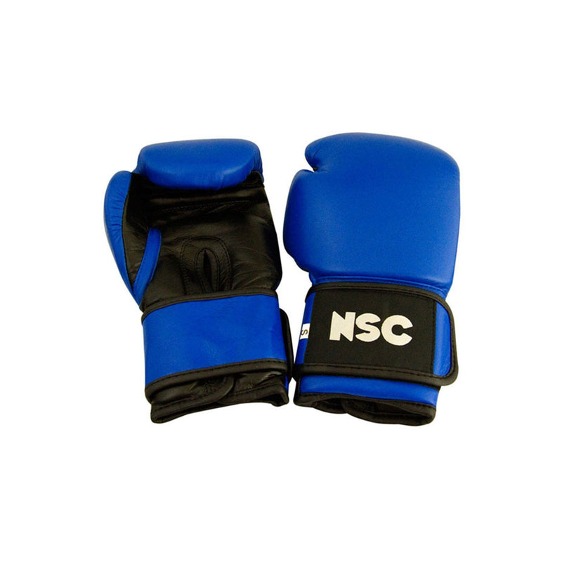 NSC Boxing Gloves 12oz Blue