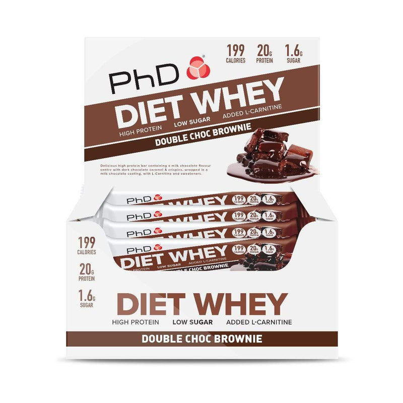 PhD Nutrition Diet Whey Bars 12 x 65g