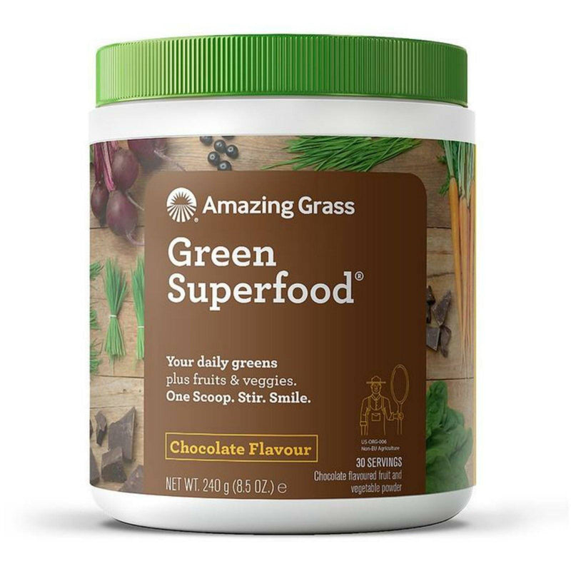 Amazing Grass Green Superfood 240g Chocolate