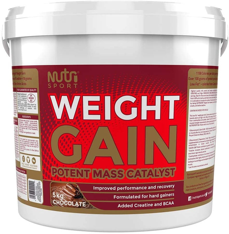 Nutrisport Weight Gainer 5kg