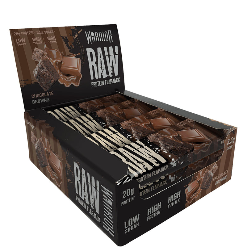 Warrior Raw Protein Flapjacks 12 x 75g