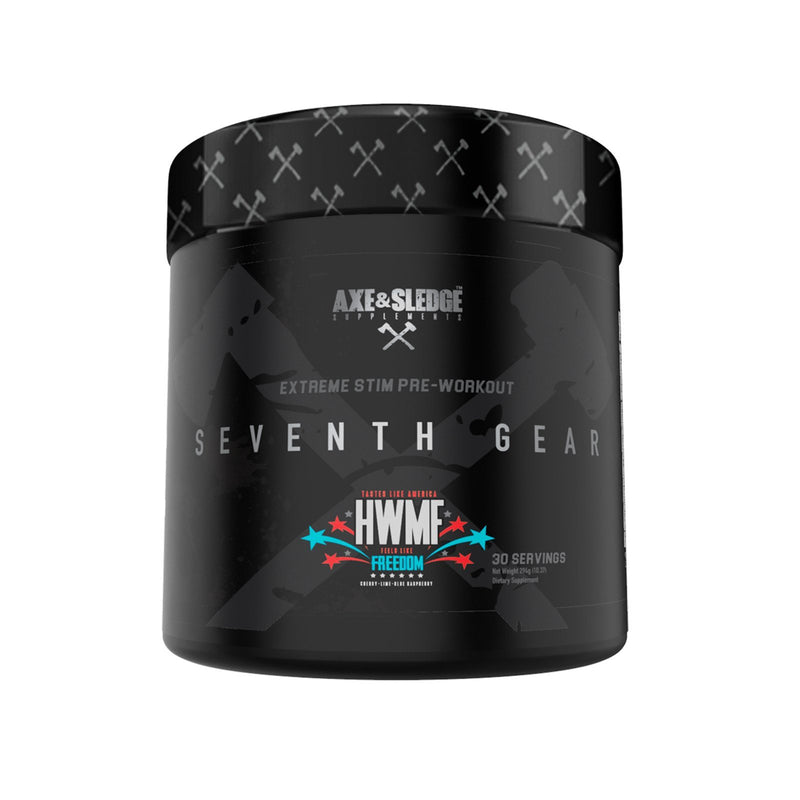 Axe & Sledge Seventh Gear Extreme Pre Workout 294g