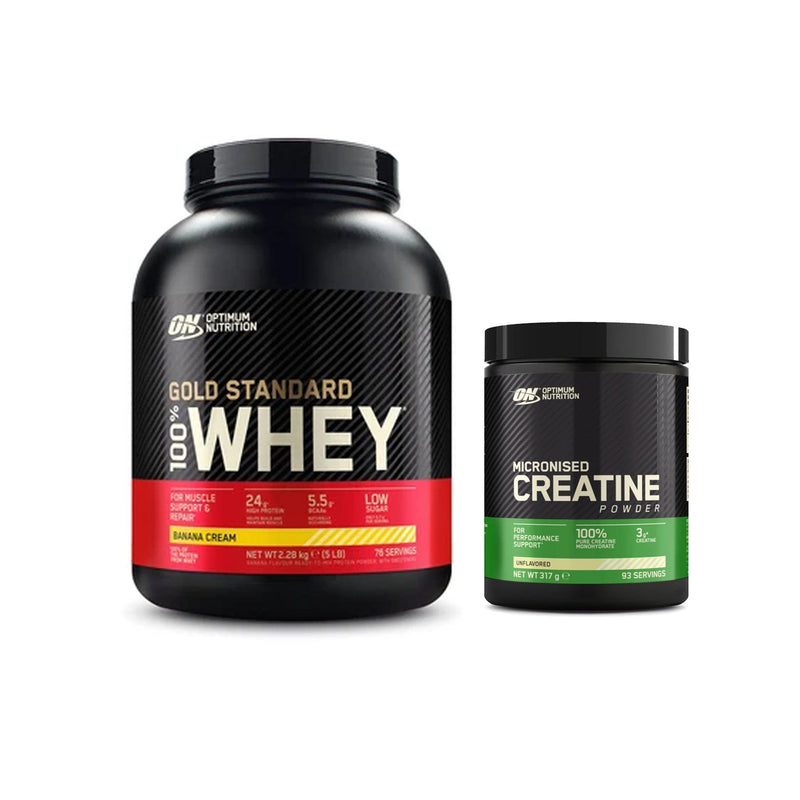 Optimum Nutrition Gold Standard 100% Whey 2.27kg + Creatine 317g