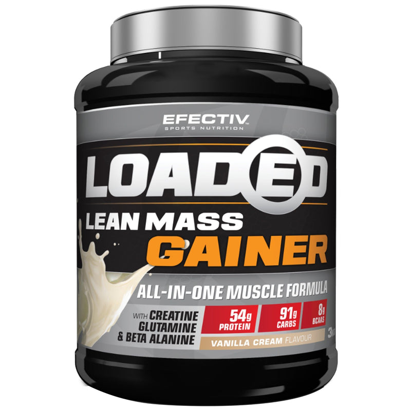 Efectiv Nutrition Loaded Lean Mass Gainer 3kg