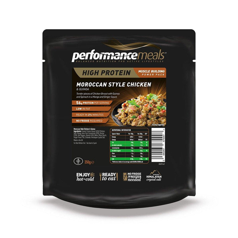 Performance Meals 350g Moroccan Chicken