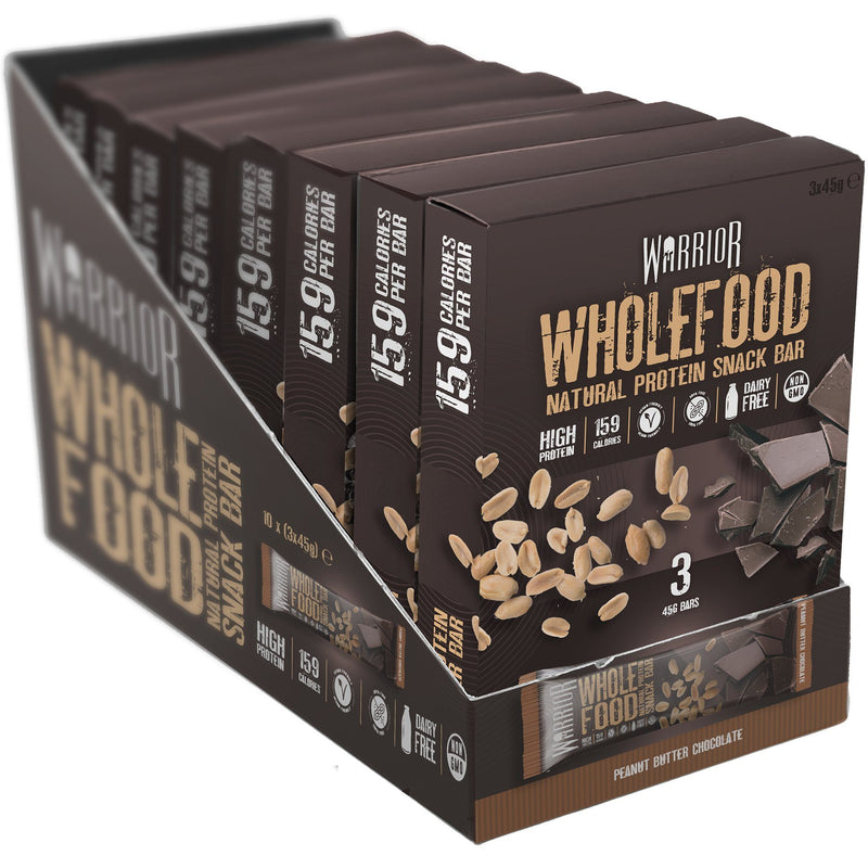 Warrior Wholefood Bar 10 x 3 x 45g