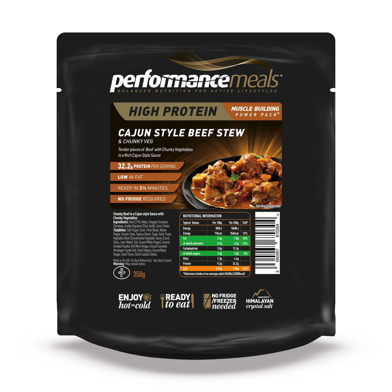 Performance Meals 350g Cajun Beef Stew